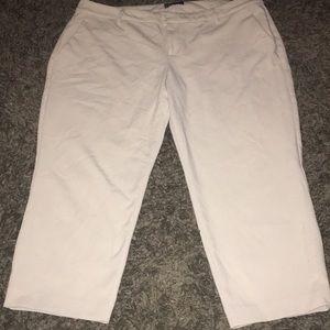 Old Navy size 18 tan Harper pants